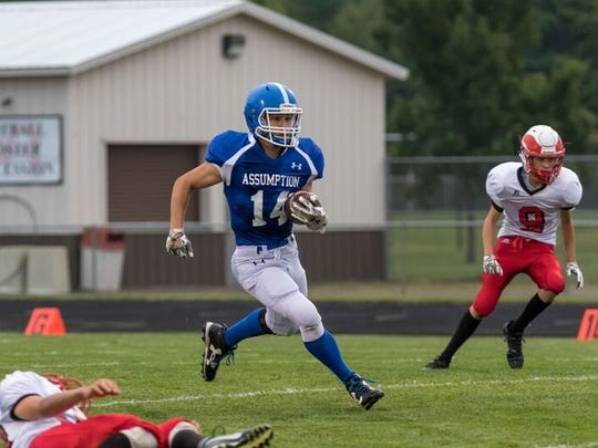 Junior running back Cole Statz will be among the players