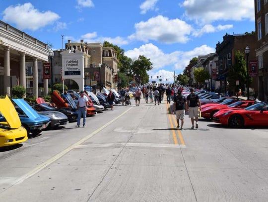 The annual Ohio Corvette Club Alliance Corvette Gathering