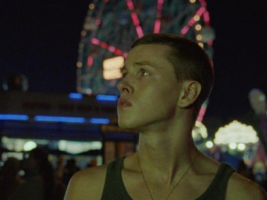 "Frankie (Harris Dickinson) is the protagonist of ""Beach"