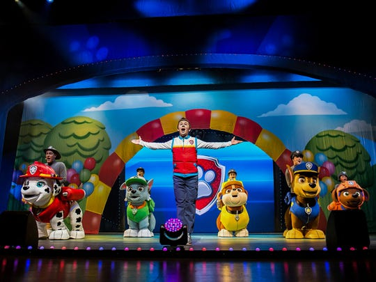 "Paw Patrol Live! ""Race to the Rescue"" will have performances Saturday and Sunday at American Bank Center, 1901 N. Shoreline Blvd."