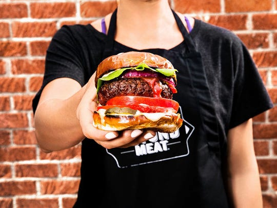 This Beyond Burger is a great selection to try for National Vegan Month.