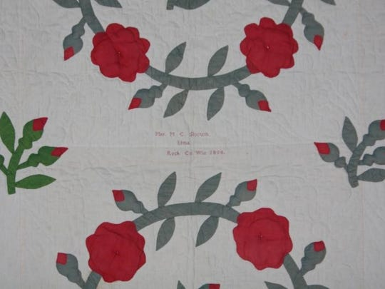 Wade house hosts over land under cover quilt exhibit
