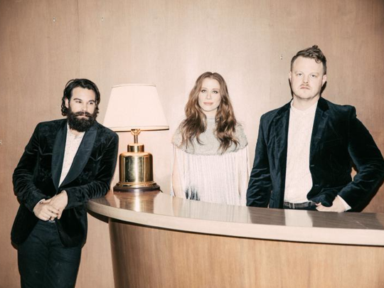 The Lone Bellow will perform at Kroger's Fest-a-Ville on the Waterfront, a Kentucky Derby Festival event.