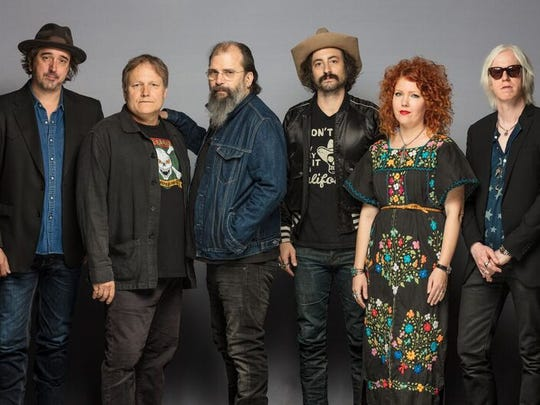 Steve Earle and The Dukes played a two-hour show on March 28 at the Meyer Theatre.
