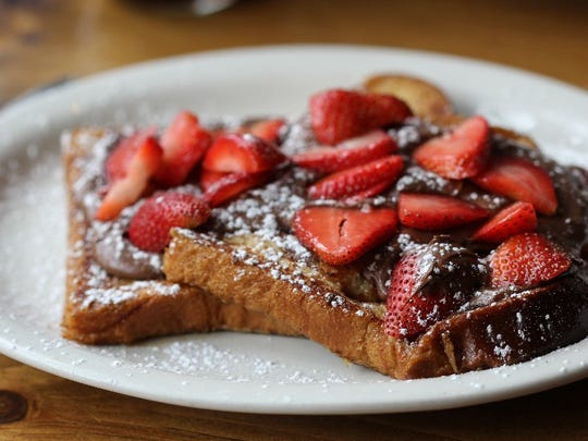 Thick cut French toast served at Toast in Montclair