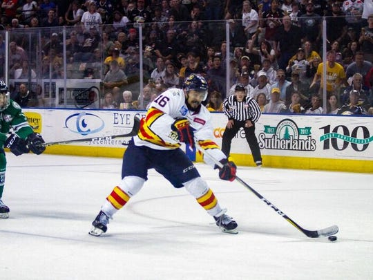 The Colorado Eagles complete a rare two-game midweek series with a home game at 7 p.m. Wednesday at the Budweiser Events Center against the San Diego Gulls.