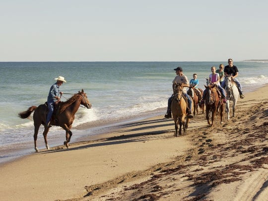 St. Lucie County promotes Tours on Horseback on its