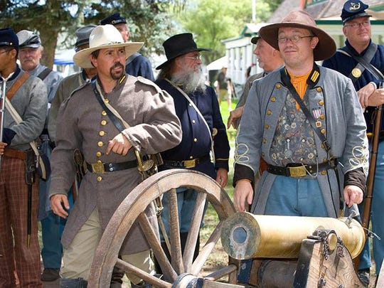 One of the most popular exhibits during Fort Stanton LIVE is the firing of the cannon.