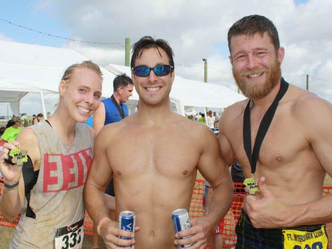 South Florida Mud Run: Jenny Decicco, Kyle Decicco and Morgan Wright