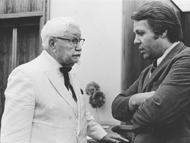 Mort Crim interviews Col. Harland Sanders in the 1970s.