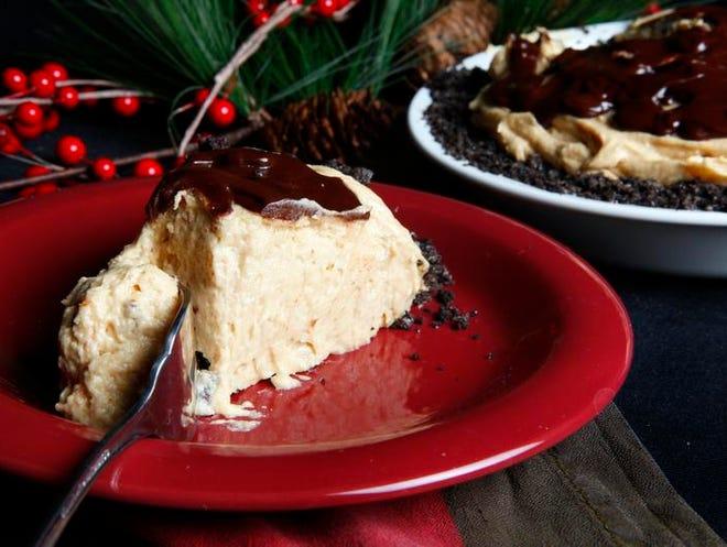 Dogwood Inn Peanut Butter Pie.  (Kylene Lloyd, The Courier-Journal) December 1, 2010