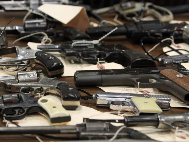 Rochester's Southwest Gun Buyback brought in 150 handguns, only 10 of which had legal permits.