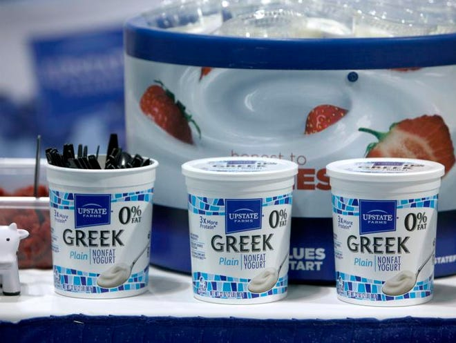 New York state was the number one producer of yogurt in the country in 2012, according to the U.S. Department of Agriculture.