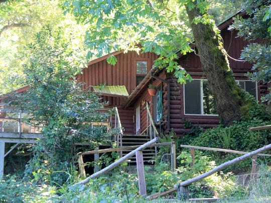 Marial Lodge is one of the historic lodges in the wild section of the Rogue River.