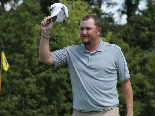 B.J. Stanfield won the 2014 Stone Cup golf tournament.