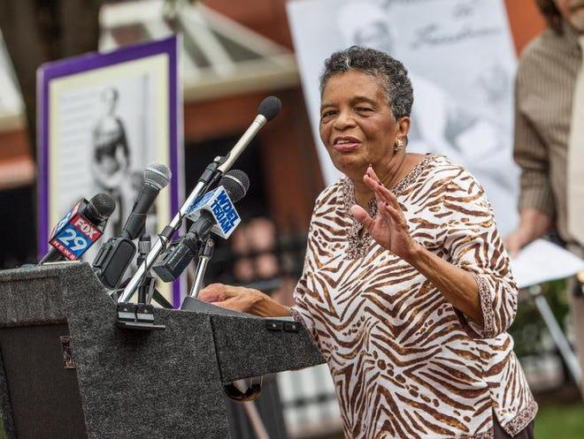 Community leader and civil rights activist Bebe Coker