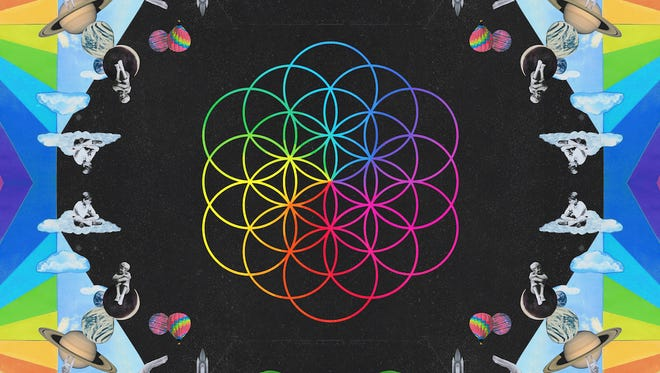 Coldplay's seventh album, 'A Head Full Of Dreams,' arrives Friday.