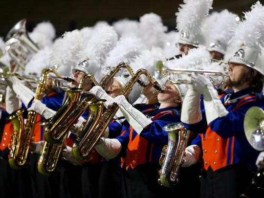 The Central High School band will march in the National