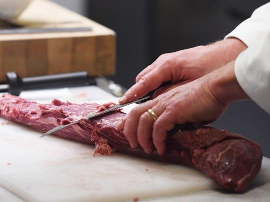 Chef David Bruno, an associate professor at The Culinary