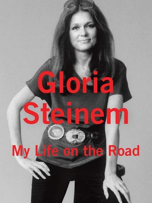 "'My Life On the Road' by Gloria Steinem is one of Emma Watson's picks for her book club ""Our Shared Shelf."""