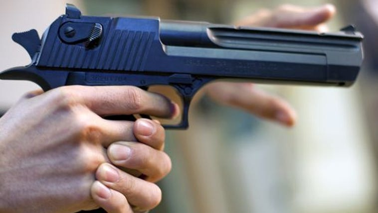 The 15-year-old let his cousin shoot him in the shoulder,