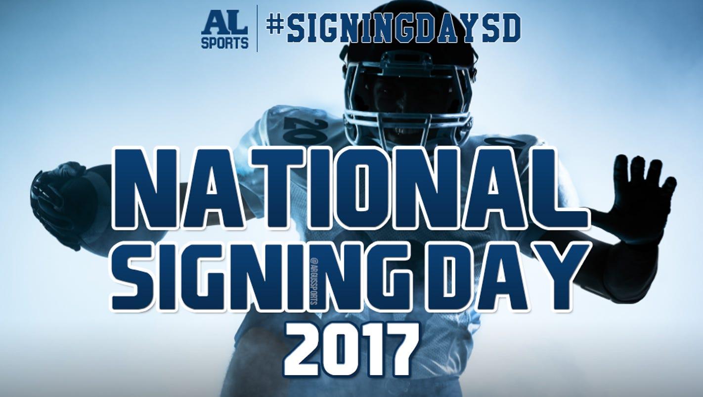 #SigningDaySD: Area recruiting lists, live blog