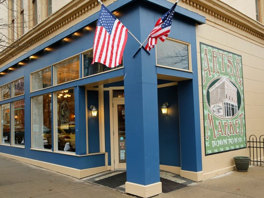 Bistro 501 at the corner of Fifth and Main streets Friday, January 8, 2015, in downtown Lafayette.