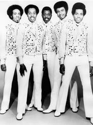 The Temptations, studio group portrait, USA, 1972.