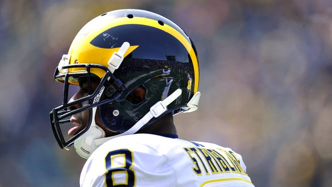 Michigan cornerback Channing Stribling