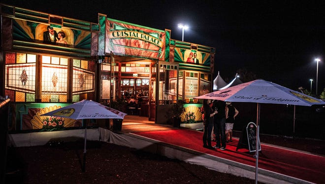 The First Niagara Rochester Fringe Festival's centerpiece is its Spiegeltent at Main and Gibbs streets.