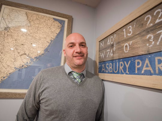 Michael Blades of Asbury Park  wants to open the first marijuana dispensary in the town.