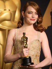 Emma Stone won a best actress Oscar earlier this year for her performance in 'La La Land.' Could she be nominated again for her role as Billie Jean King in 'Battle of the Sexes'?