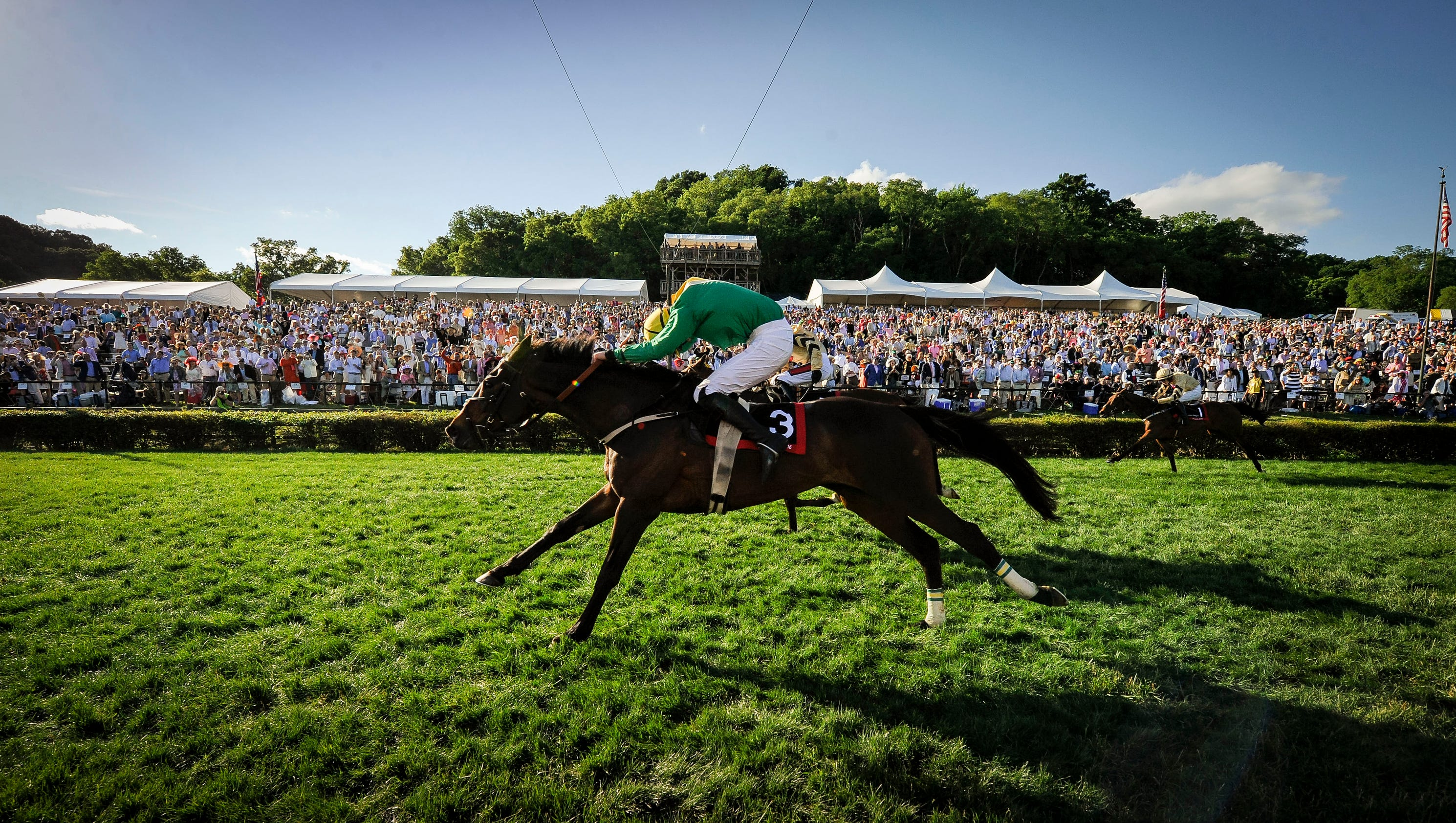 The 75th iroquois steeplechase races for Steeple chase