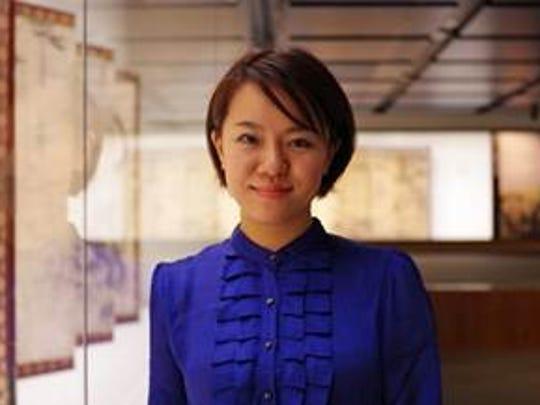Mari Kashiwagi, award-winning poet.