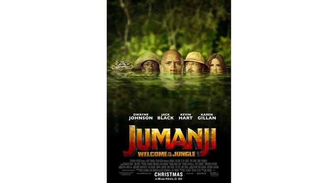 Insiders enter to win an advance screening opportunity of JUMANJI on Monday, Dec. 18 at AMC Thoroughbred.