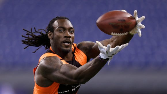 Auburn wide receiver Sammie Coates will be a second or third-round pick in the opinion of ESPN's Mel Kiper Jr.
