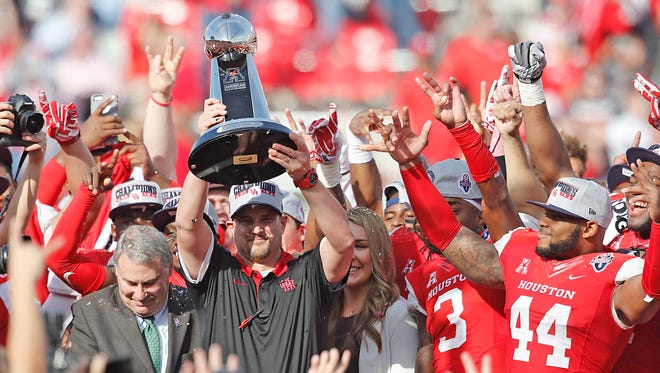 Houston enters the 2016 season as the favorite to win the AAC again.