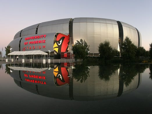 University of Phoenix Stadium / Glendale, Arizona /