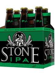 Stone Brewing's iconic IPA.