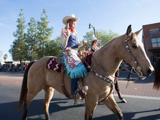 Members of the Cowgirls Historical Foundation ride
