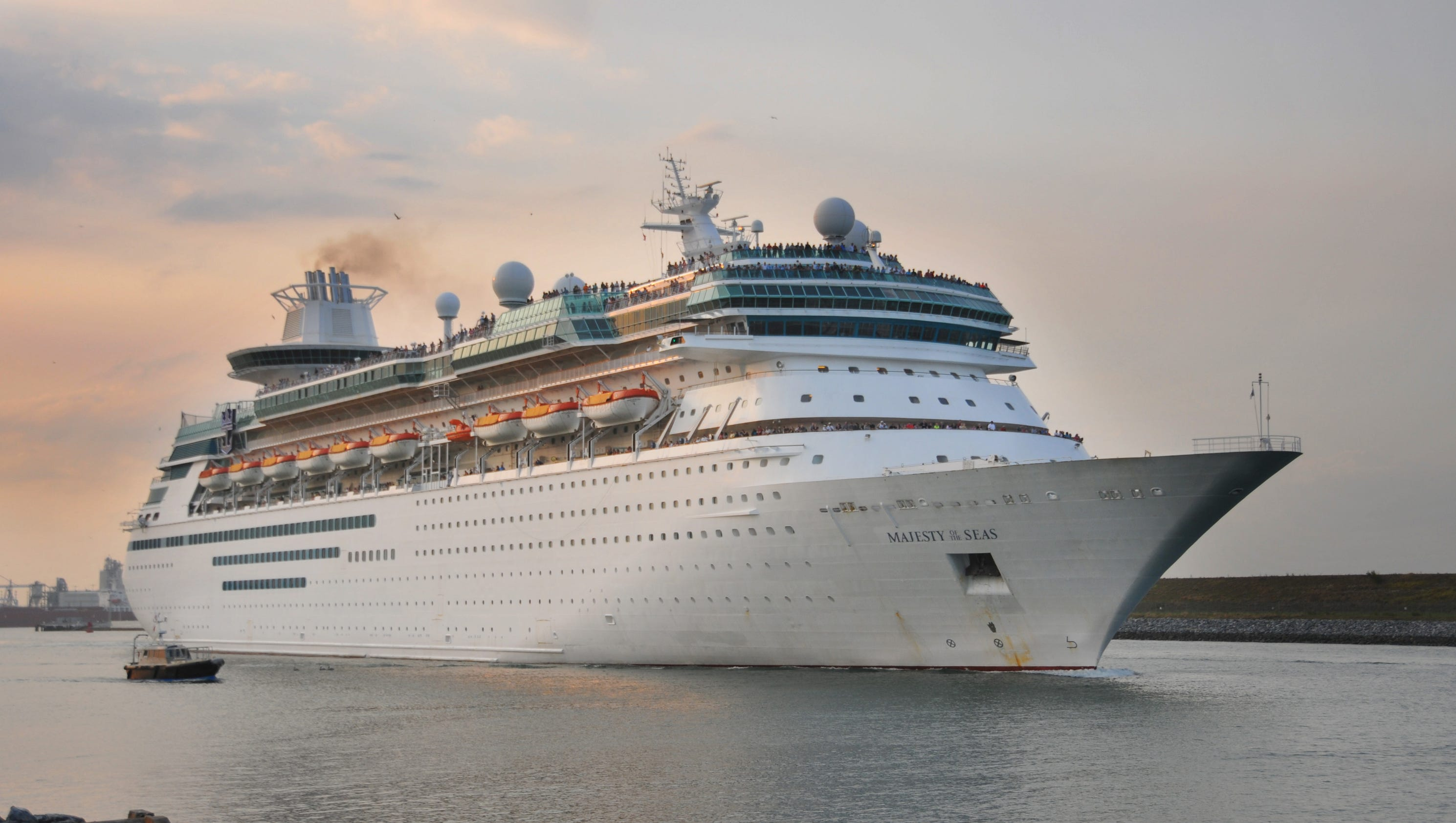 Majesty Sails After Daylong Delay At Port Canaveral