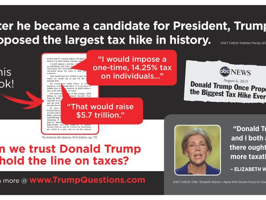 This mailer from the anti-Trump Our Principles PAC