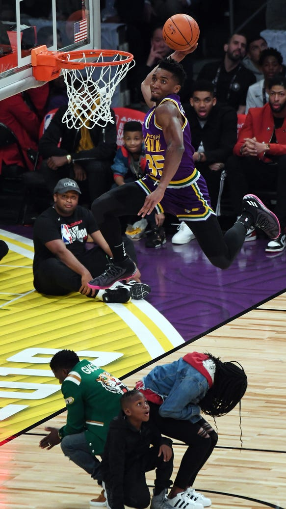 8 amazing photos from the 2018 Slam Dunk Contest