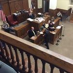 Crime Scene Investigator Jeff Byrd testifies today in a Hattiesburg man's murder trial.