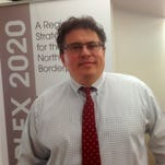 Rolando Pablos is leaving his job as CEO of the Borderplex Alliance on Aug. 31.