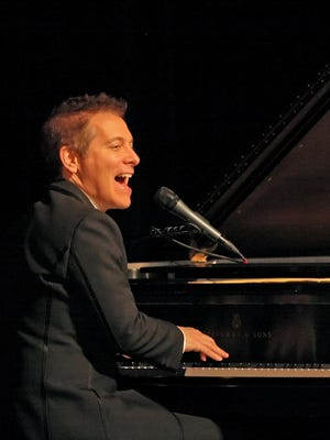 Michael Feinstein sings and plays a Cole Porter favorite during the April Montgomery Woman's Club Town Hall Lecture Series.