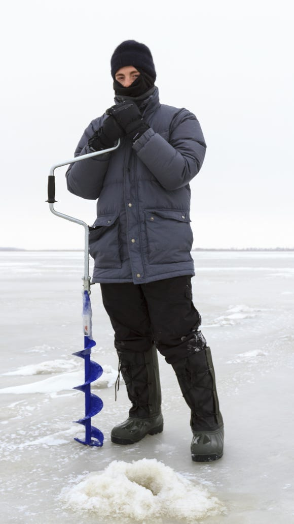 DEC is urging ice anglers to use caution due to warm weather and recent rain.
