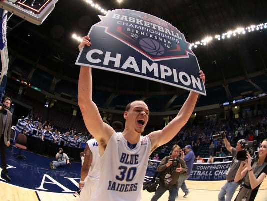 NCAA Basketball: Conference USA Tournament-MIddle Tennessee State vs Old Dominion