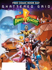 The Mighty Morphin Power Rangers Special is one of many free comics being given away Saturday for Free Comic Book Day.