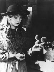 Lillian Gish starred in many of the silent era's best
